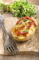 baked potato with cheese and chorizo - PhotoDune Item for Sale