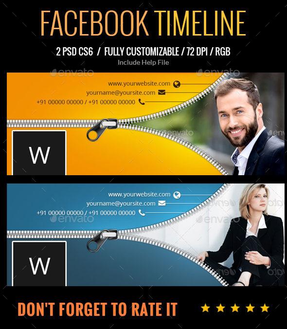 GraphicRiver Facebook Timeline 9314855