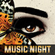 Music Night Flyer Template - GraphicRiver Item for Sale
