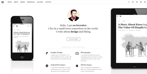 Readme WordPress Theme