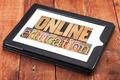 online education in wood type - PhotoDune Item for Sale