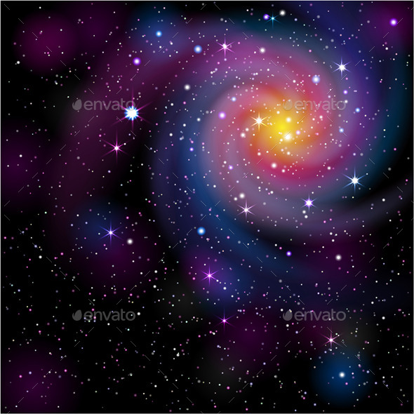 GraphicRiver Galaxy Background 9315750