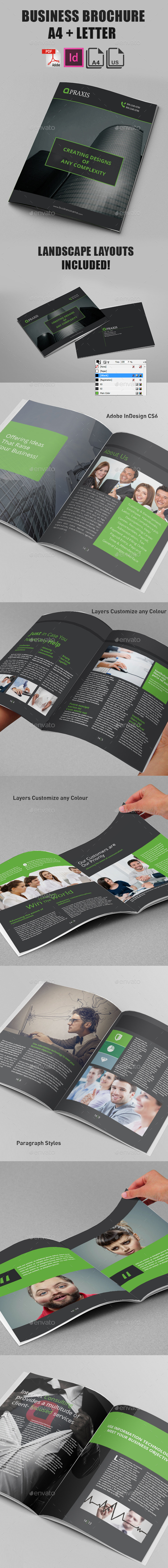 GraphicRiver Corporate Business Brochure 14 pages 9315756