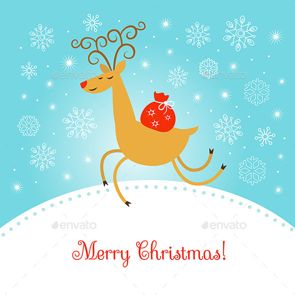 GraphicRiver Merry Christmas Illustration 9315770