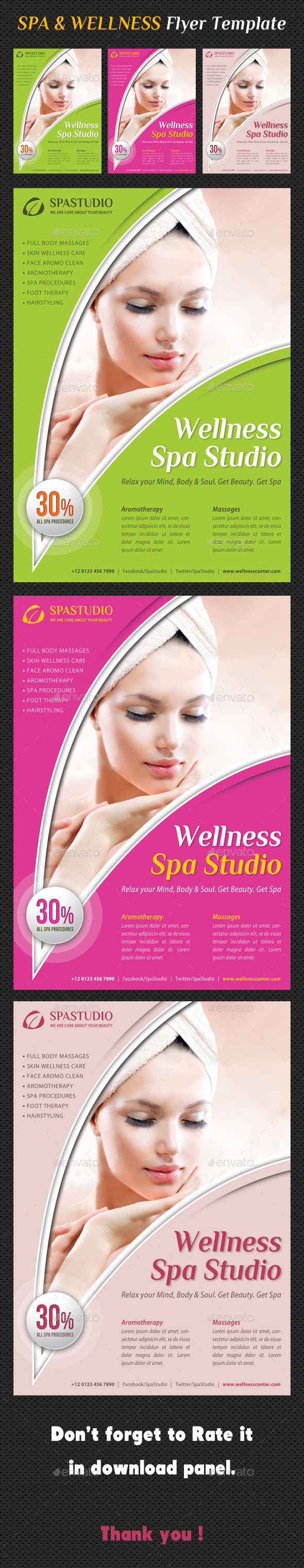 GraphicRiver Spa Studio Flyer 30 9315776