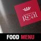 Classy Food Menu Brochure Template - GraphicRiver Item for Sale