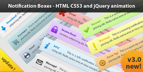 CodeCanyon Notification Boxes 112462