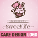 Sweetlife - Cup Cake Design Illustration Template - GraphicRiver Item for Sale