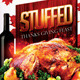 Stuffed Thanksgiving Feast Flyer - GraphicRiver Item for Sale