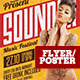 Sounder Flyer Template - GraphicRiver Item for Sale