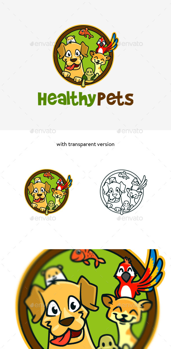 GraphicRiver Pet Veterinary Logo 9316916
