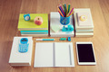 Tidy student desktop - PhotoDune Item for Sale