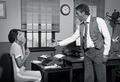 Boss arguing with young secretary in the office - PhotoDune Item for Sale