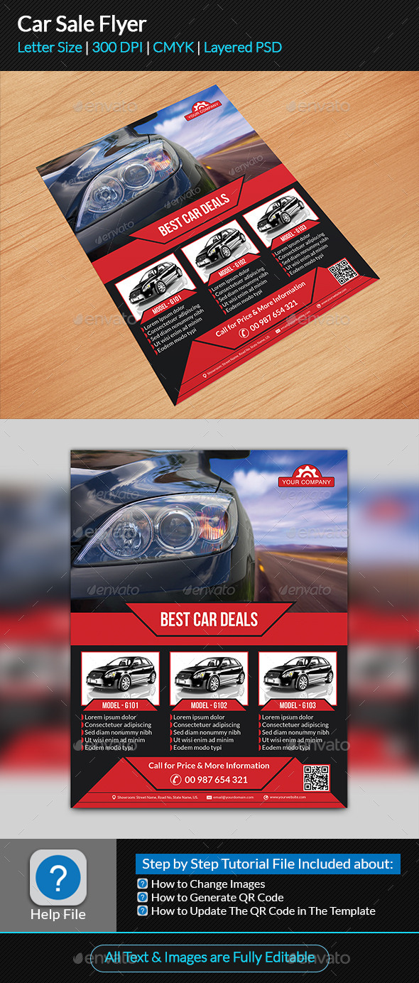 GraphicRiver Car Sale Flyer 9317506