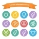 Vector sexual orientation white web icons,symbol,s - GraphicRiver Item for Sale