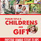 Children Are Gift Flyer - GraphicRiver Item for Sale