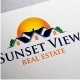 Sunset View Logo - GraphicRiver Item for Sale