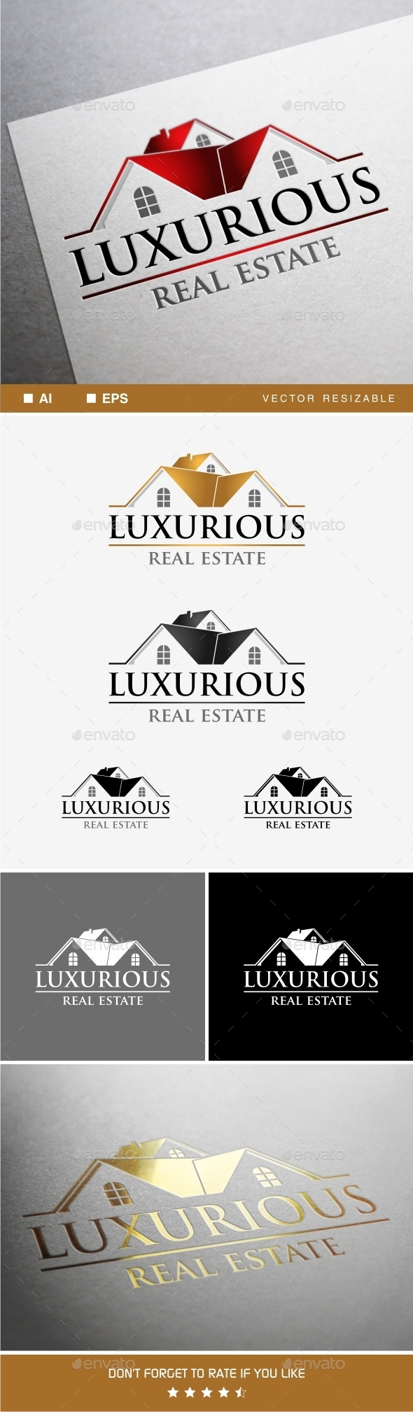 GraphicRiver Luxurious Estate Logo 9318046