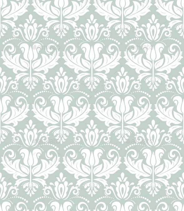 GraphicRiver Damask Seamless Pattern 9318095