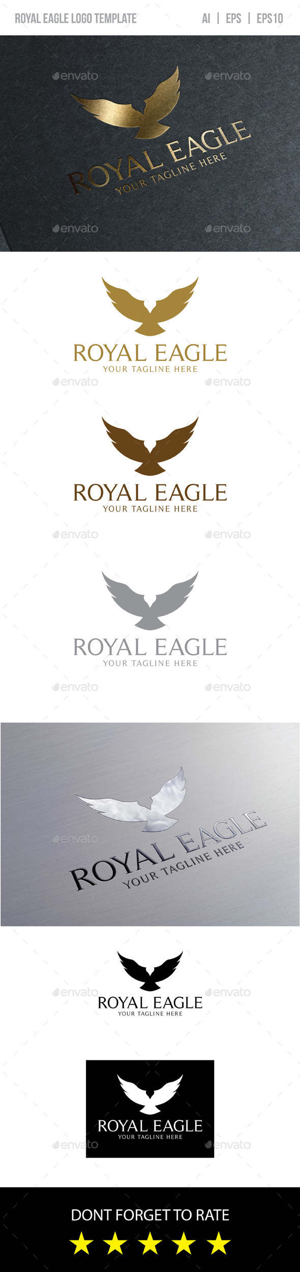 GraphicRiver Royal Eagle Logo 9318407