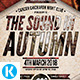 The Sound in Autumn Flyer - GraphicRiver Item for Sale