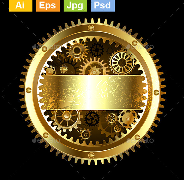 GraphicRiver Round Mechanical Banner 9318619