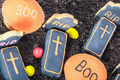 Handmade Halloween cookies and sweets - PhotoDune Item for Sale