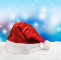 Santa hat on snow - PhotoDune Item for Sale