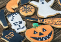 Handmade Halloween cookies - PhotoDune Item for Sale