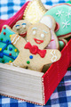smiling gingerbread man cookies - PhotoDune Item for Sale