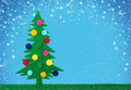 Christmas tree with balls - PhotoDune Item for Sale