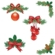 Set of Christmas Tree Decorations - GraphicRiver Item for Sale