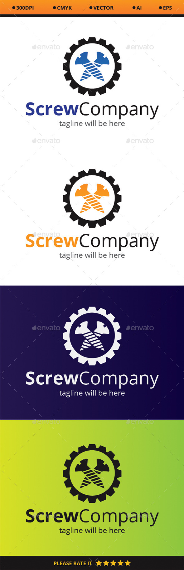GraphicRiver Screw Company 9318985