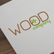 Wood Company Elegant Business Card - GraphicRiver Item for Sale