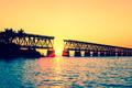 Sunset with famous broken bridge - PhotoDune Item for Sale