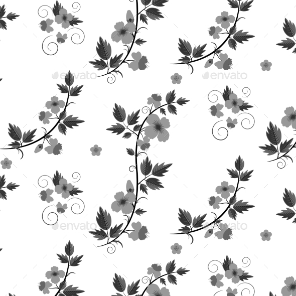 GraphicRiver Floral Pattern 9319137