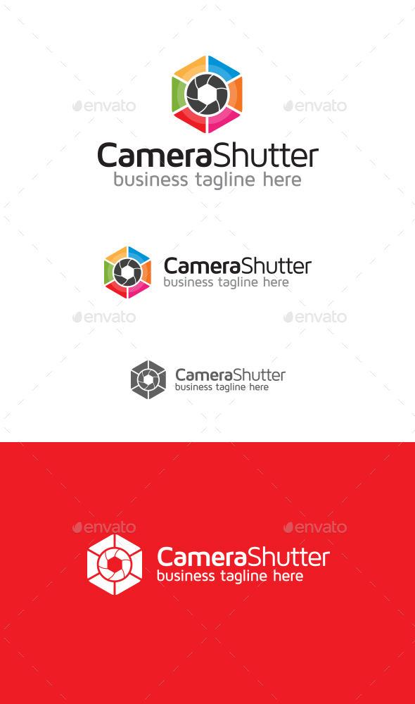 GraphicRiver Camera Shutter Logo 9319352