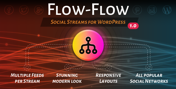 CodeCanyon Flow-Flow Social Streams for WordPress 9319434