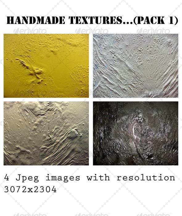 Handmade art textures (PACK 1) - Miscellaneous Textures