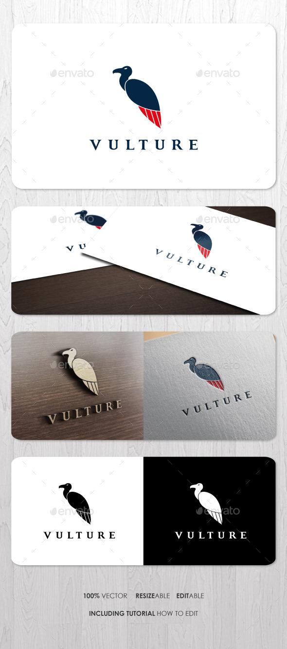 GraphicRiver Vulture Logo V2 9319498