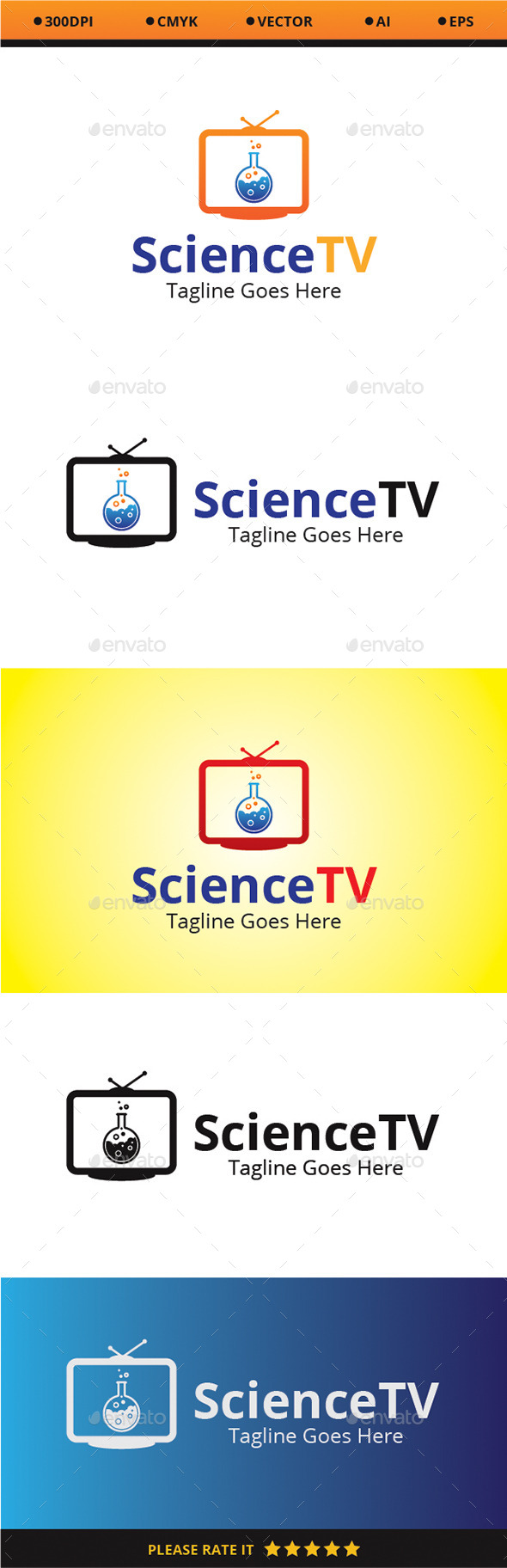 GraphicRiver Science TV 9319527
