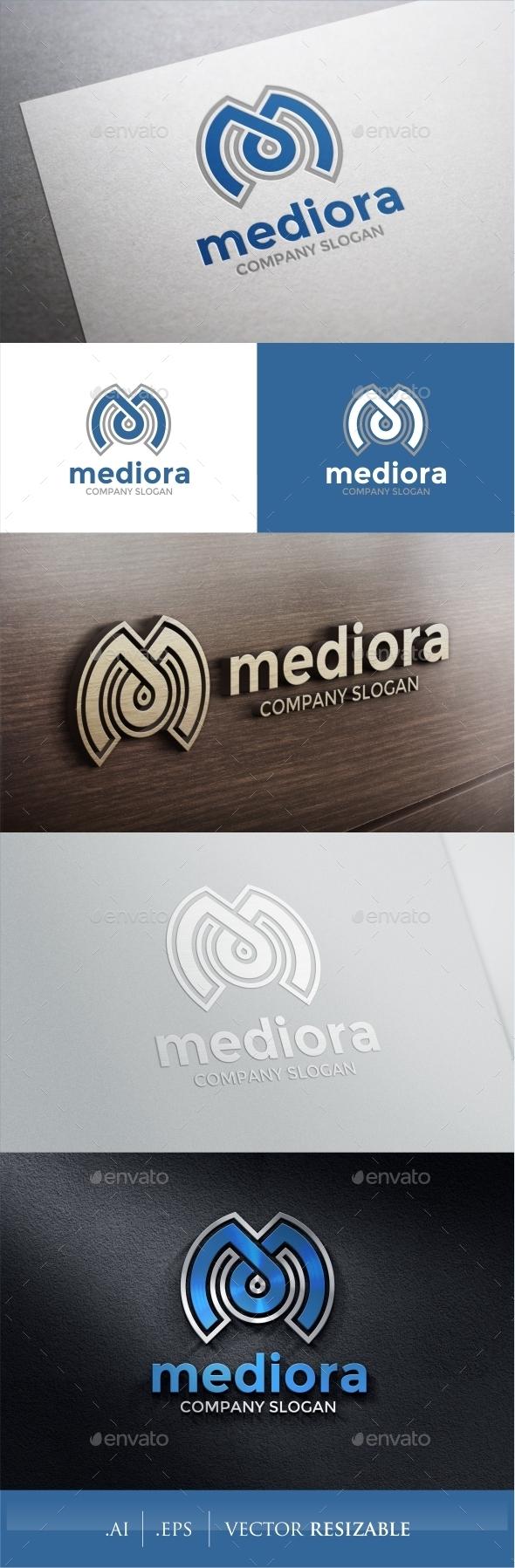 GraphicRiver M Letter Logo 9319528