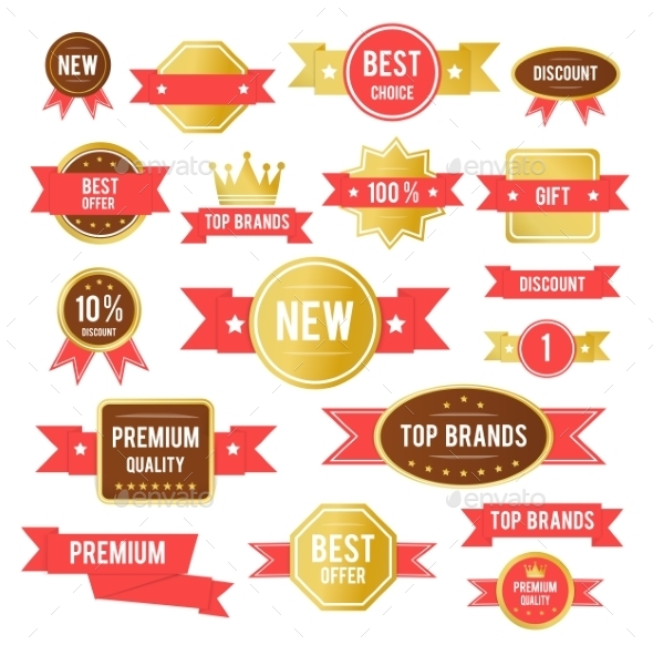 GraphicRiver Sale Tags Set 9319796