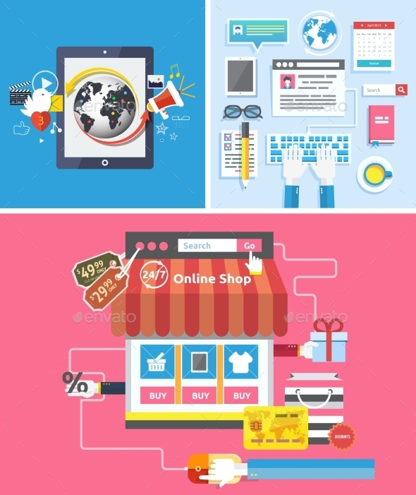 GraphicRiver Online Shop Social Media and Seo Optimization 9319827