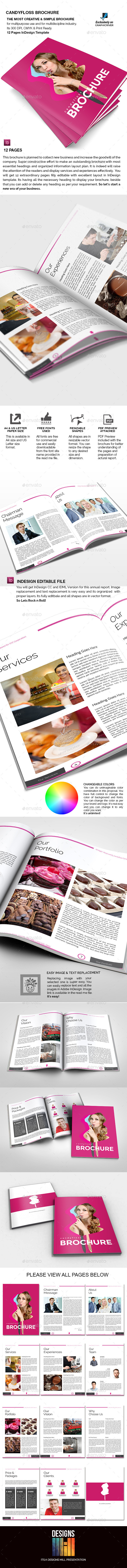 GraphicRiver Candyfloss Brochure 9320071