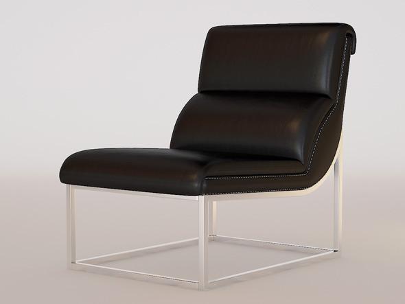 INTERIO Chatdeau Dax Chair - 3DOcean Item for Sale