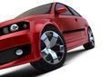 Red car render - PhotoDune Item for Sale