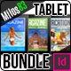 Tablet Vacation Magazine Bundle - GraphicRiver Item for Sale