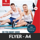 Fitness Health Flyers Bundle Template - GraphicRiver Item for Sale