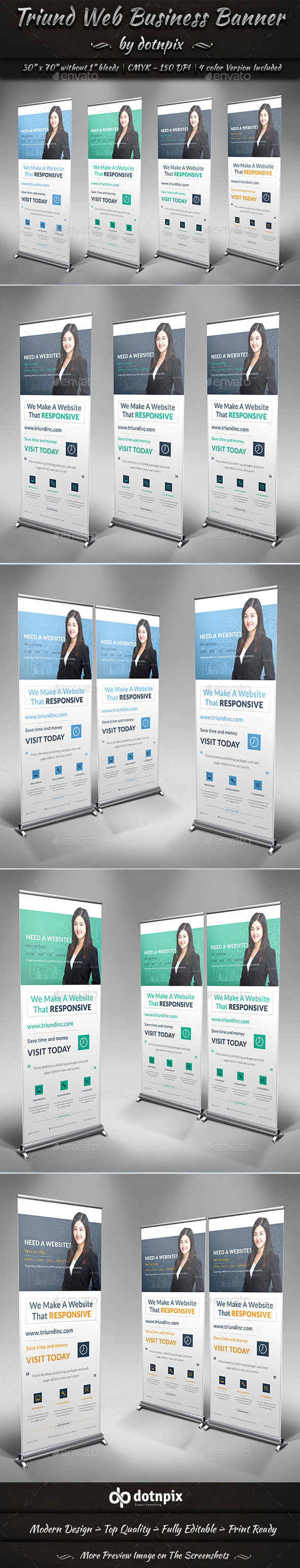 GraphicRiver Triund Web Business Banner 9321683